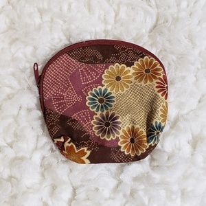 Coin purse with Japanese Patterns